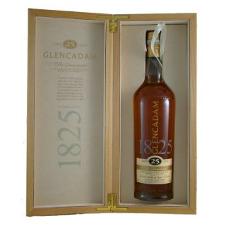 Glencadam 25 Years Whisky The Remarkable LIMITED EDITION 46% vol. 0,70 l Bottle Nr. 0168 // Sonderpreis